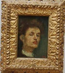 Selvportrett, Edvard Munch, Nasjonalmuseet for kunst. foto Tomas Bagackas