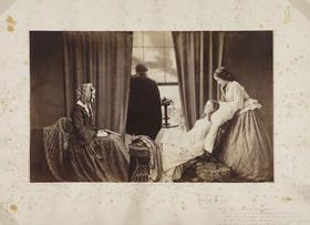 Fading away, 1858, Henry Peach Robinson, foto  foto Tomas Bagackas