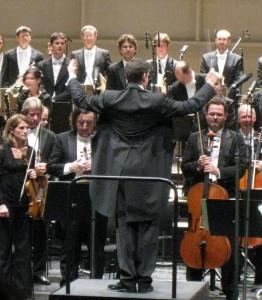 Philippe Jordan and Orchestra de l´Opera National de Paris, 14.11.2009. Photo: Henning Høholt