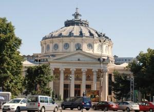 Ateneum, Bucarest, Foto: Henning Høholt