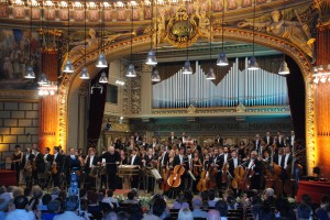 Gulbenhian Symphony Orchesre, Conducted by Lawrence Foster, at Ateneum, Bucarest. Foto Henning Høholt