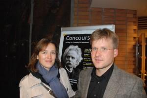 Vilja Poskute and Tomas Daukantas, GRieg Concours winners in Oslo    <div title=