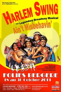 Ain´t Misbehavin at Folies Bergere 18-30 October 2011