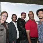 Fra venstre, Kjetil Skøien, Samir Tawfiq, Yassine Erofali, Abdelaziz Kossai og Tarik Moussaid. Foto: Erik Berg,