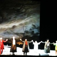Manon, Applaus at Opera Bastille. Debut of Marianne First and Jean_Francois Borras. Foto: Henning Høholt. We regret the photo quality.