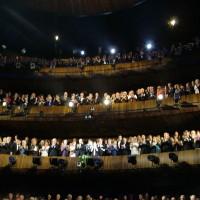 Operabalkongene, applaus, Åpning DNO 120408, foto Henning Høholt, copyright,