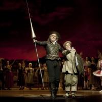 Peter de Jong (Don Quichotte), Karel de Rooij (Sancho Panza), Photo: Angela Sterling