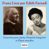 Edith Farnadi plays Franz Liszt on CD together with London Philharmonic Orchestra and Vienna State Opera Orchestra on CD.
