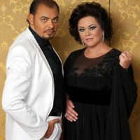 Alfredo Nigro and Violeta Urmana, foto copyright: Violeta Urmana.