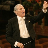 Georges Prêtre, this year he has been conducting The Vienna Philharmonic for 50 years.