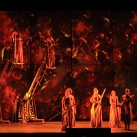 From Die Walküre, photo Gianlucca Moggi