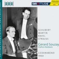 Souzay Haessler liederabend, CD Cover