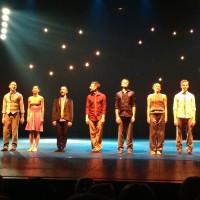 Dansk Danse Teater tar imot applaus i Vilnius. Foto: Henning Høholt