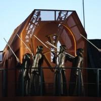 Nabucco på Fredrisketn Festning i Halden med Opera Østfold. Foto. Christophe Lexander