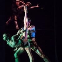 Stage photo from Garrett Smith´s ballett Return with the Houston Ballet.