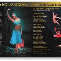Ballet St. Petersburg in Paris primo February.