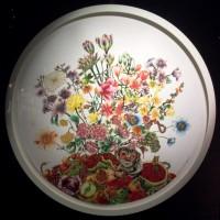 Flower embroidery, foto Henning Høholt