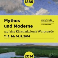 Worpswede 125 years jubilee. Celebration 11.5.-14.9.2014