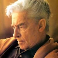 Herbert von Karajan, fotoet er lånt fra John Christiansens danske hjemmeside.