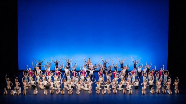 Ballettskolen 50 år. Foto Erik Berg