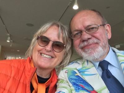 Marianne Heske og Henning Høhollt mntes Løa både på Astrup Fearnley Museet i fjor, i i Pompidou Centeet i Paris i forrige årtusen. Foto Henning Høholt