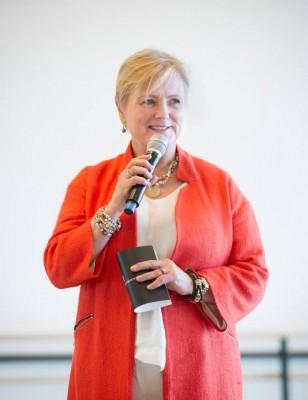 Kulturminister Thorhild Widwey presenterer Nasjonalballetten UNG, den nye satsningen for unge dansere. Foto Jörg Wiesner
