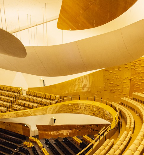 From the big hall. Foto: C. Beaucardet