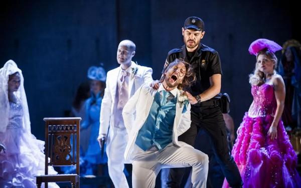 Björn Bürger som Don Giovanni. Foto Jörg Wiesner, Den Norske Opera & Ballett