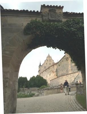 Entrance portal to Veste Coburg fortress, Foto Henning Høholt, 2015