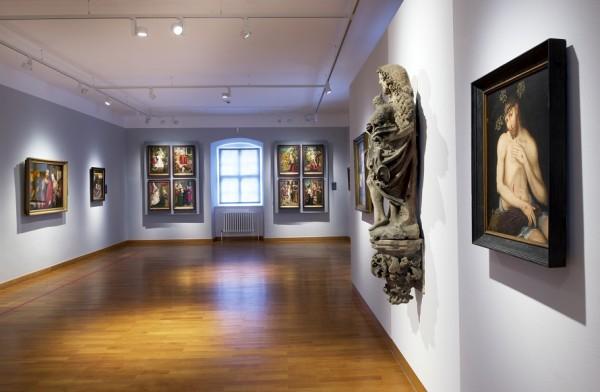 Fränkische Galerie. at Fortress Rosenberg, Kronach. Foto Achim Bühler, Concept Visuell at