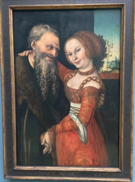 Lucas Cranach d.y. maleri. Foto Henning Høholt