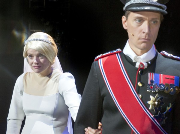 Kronprins Haakon Magnus og Mette Marit (Charlotte Frogner og Ola G. Furuseth)  Foto Dag Jenssen