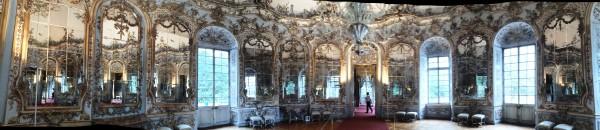 Amalienburg Mirror Hall.  Widescreen Foto Henning Høholt