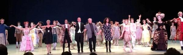 Applaus fotos fra premieren på Manon av Sir Kenneth MacMillan, med bl.a. Yolanda Carreno og Yoel Correa, samt sist, men ikke minst hele produksjonsstaben, .  fotos Tomas Bagackas