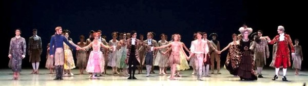 Applaus fotos fra premieren på Manon av Sir Kenneth MacMillan, med bl.a. Yolanda Carreno og Yoel Correa. Spilles på Operaen til og med 16. Oktober.  Applaus foto Tomas Bagackas.