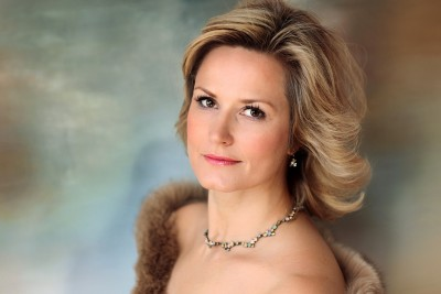 Camilla Nylund (Finland) sings Klytamnestra in Richard Strauss Elektra at Semperoper, Dresden. During the Richard Strauss Days.  Foto AnnaS