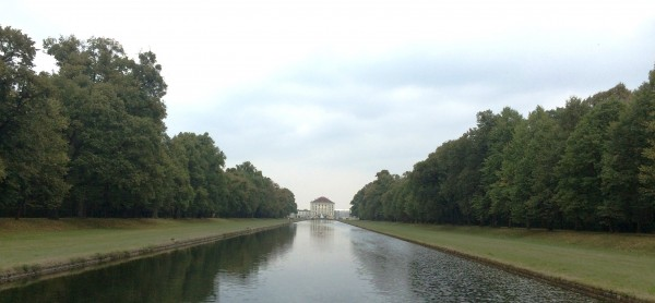 Nymphenburg, seen from end of Canal, Foto Henning Høholt