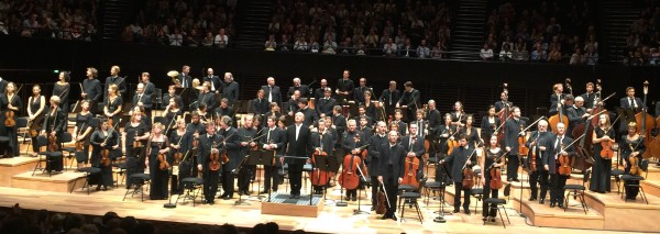 Orchestre de Paris with Paavo Järvi, will play Arvo Pärt the coming week-end at Philharmonie de Paris.  Foto Henning Høholt 10.9.2015.