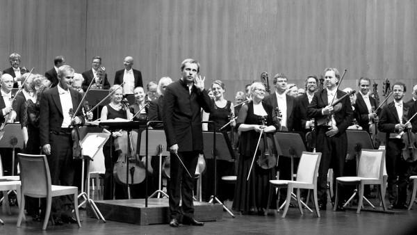 Oslo Philharmonic Orchestra in Santander, Spain, in front conductor Vasily Petrenko, foto Emilija Temirkulovaite.