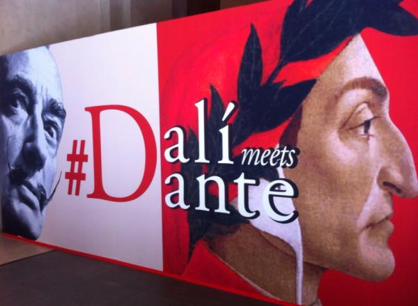 Dali meets Dante in Firenze,