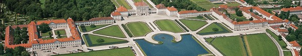 Nymphenburg seen from the air.