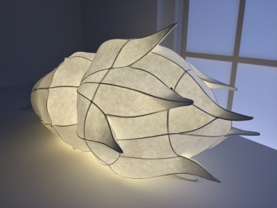 Exiting paper lamp. Foto Henning Høholt