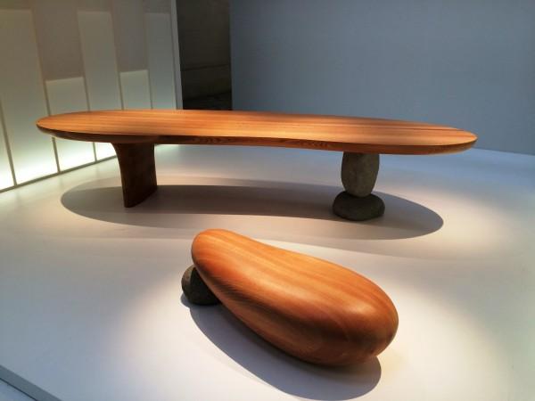 Table and Bench. Foto Henning Høholt