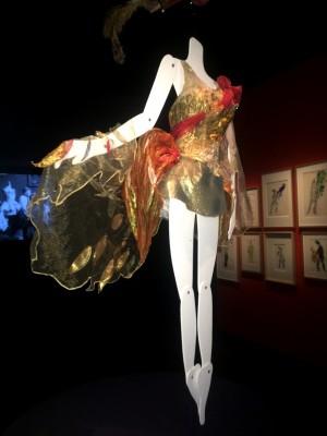 Marc Chagall, The Firebird, New York 1945, costume. Foto Henning Høholt