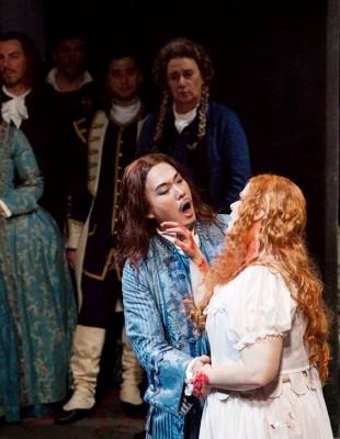Lucia di Lammermoor in FIrenze. Kim, Pratt Foto: