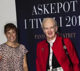 Oh Land og HM Dronning Margrethe skal lave Askepot balletforestilling sammen til Pantomimeteatret i Tivoli, premiere 25. Juni 2016. Foto: Tivoli.