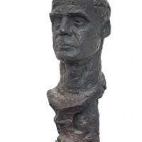 Arnold Haukeland, byste av Jacob Weidemann