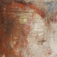 Det syke barn. 1885—86. Edvard Munch, detalje.