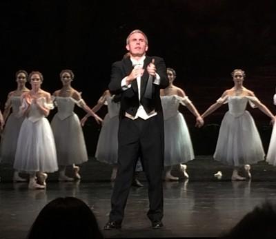 Per Arne Skalstad, dirigerer GIselle på Nasjonaloperaen. Foto Henning Høholt, 14.11.15