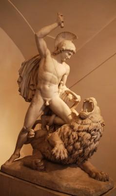 Sculpture in Belvedere Upper Palace, Wien, Foto Henning Høholt